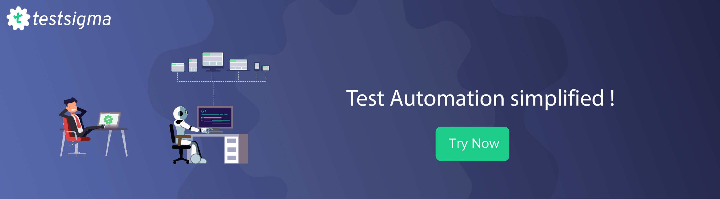 Test automation simplified with Testsigma,Test automation without coding, TryTestsigma