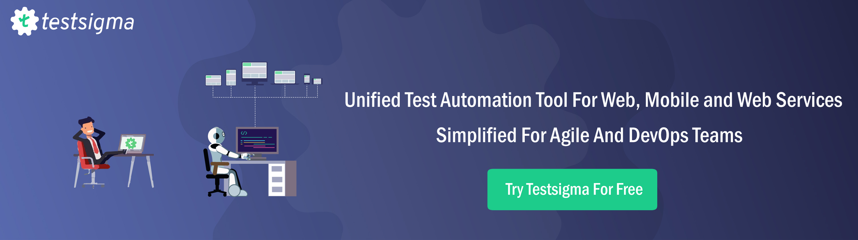 Unified Test Automation_Testsigma
