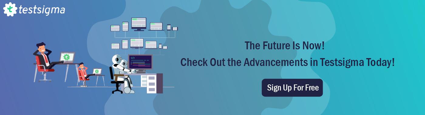 Test Automation future trends_Testsigma