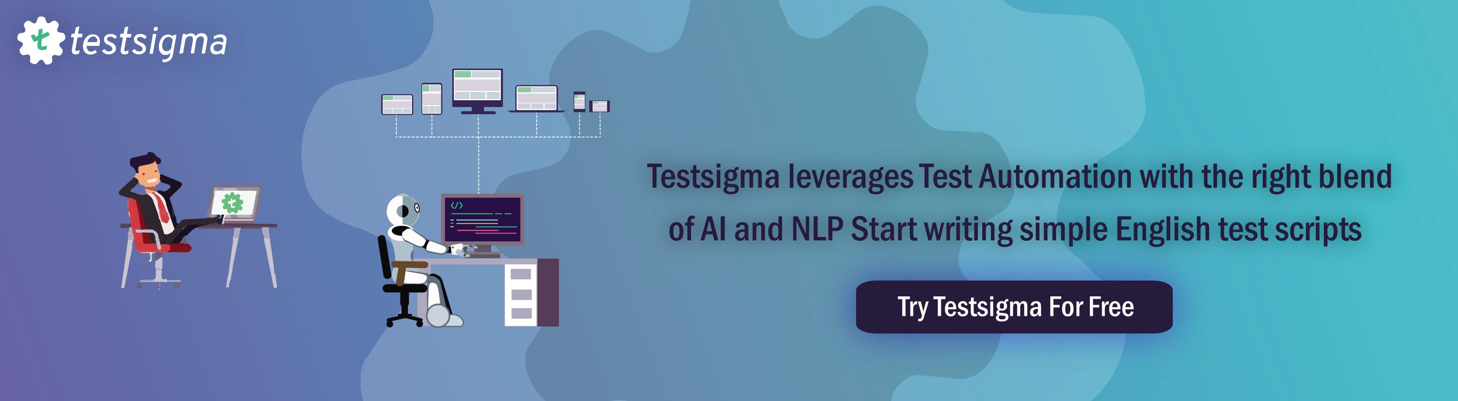 Testsigma_AI nad NLP