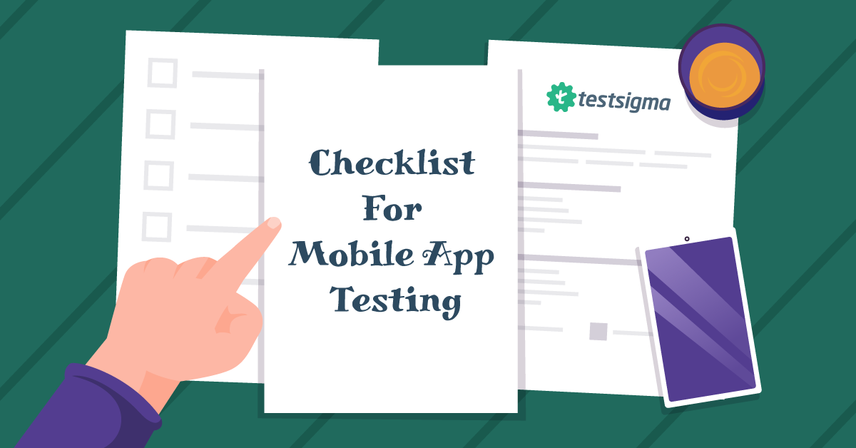 Checklist For Mobile App Testing