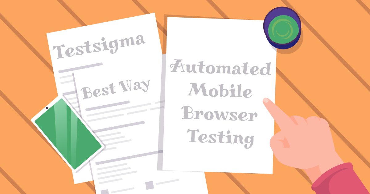 What is the best way for automated mobile browser testing on real devices?