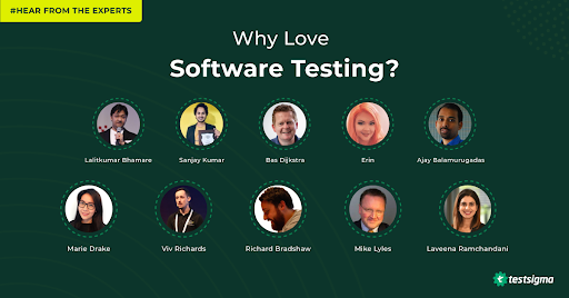 Why love software testing? Hear from the experts